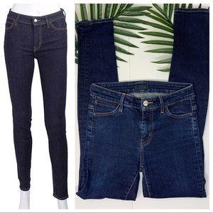 Koral High Rise 1 month dark wash skinny jeans
